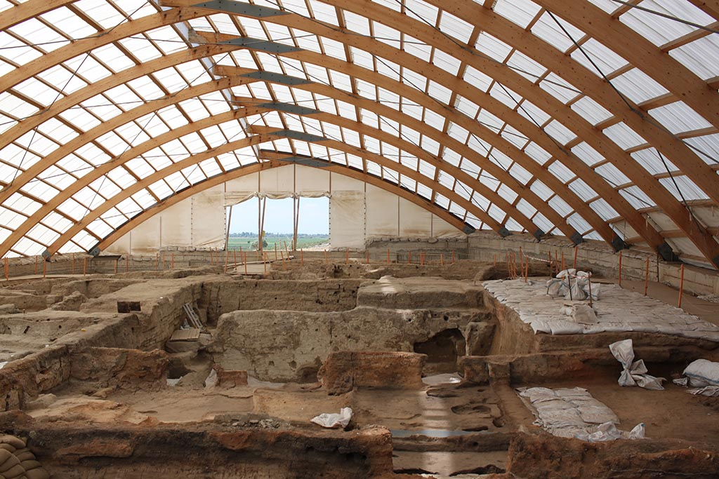 6. Protecting the archaeology (the North Shelter)
